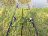 Scaun pentru pescuit 1000 lei , undițe și ustensile de pescuit