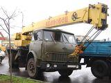 Автокран МАЗ 12 тон, automacara MAZ 12 tone