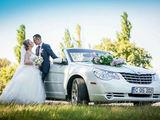 Chrysler sebring cabriolet транспорт для торжеств transport pentru ceremonie