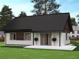 Новый дом-дача на берегу озера