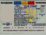 Buletin roman. 45 euro, contract.
