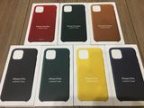 iPhone 11 Pro, 11 Pro Max Leather & Silicone Case 100% Originale Sigilate