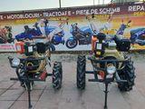 Motoblocuri Zubr motorina 7-10 cai putere cu electrostarter si fara magazin Motoplus