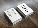 Офсетные визитные карточки.