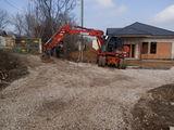 Oferim servicii excavator:  - lucrări de terasament, săpare, excavare, nivelare,  - lucrări de const