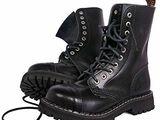 Steel Rangers Boots Combat Toe Black