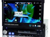 Автомагнитола pioneer s600 gps + tv 7 inch 1din gps+ usb+cd + dvd + tv+bt+ipod+camera