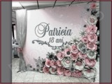 Flori din hirtie, Decor panou, baloane si fotopanou, fotostand nunta, cumatrie, zi de nastere, botez
