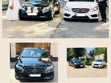 Chirie Mercedes Benz, albe/negre, pret real! Cortegiu 2-3-4 auto -20% reducere