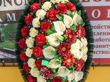 Coroane funerare în asortiment la preţ bun cu livrare oriunde în Moldova
