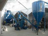 Линия приготовления гранулированных кормов для птиц, произв.1т/ч  предназначен для различных видов ж