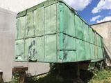 Вагон строительный, vagon cu doua camere