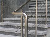 Перила из нержавейки, комплектующие balustrade din inox,oţel inoxidabi accesorii balustrade inox
