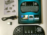 Беспроводная мини-клавиатура с подсветкой!