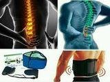 Centură lombară cu turmalină - dureri de spate, hernie de disc, amorțeli și picioare reci