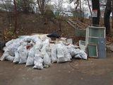 Evacuarea gunoiului de constructie. Hamali