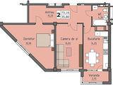 2-комнатная квартира с индивидуальным дизайном. Новострой. Цена застройщика!