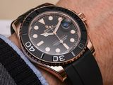 Rolex Gold/Black - Yacht-Master 42mm - Automatic - New !!!
