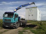 Servicii de transport a marfurilor + manipulator.