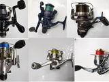 Продам катушки рыболовные в отличном состоянии, Mulinete pentru pescuitul .