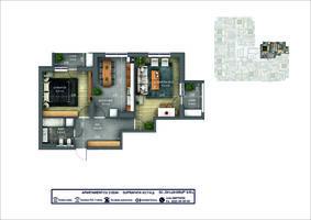 2-комнатная 63.7 м2