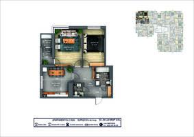2-комнатная 66.1 м2