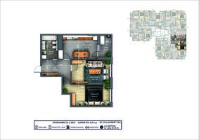 2-комнатная 61.5 м2