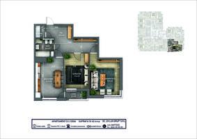 2-комнатная 62.6 м2