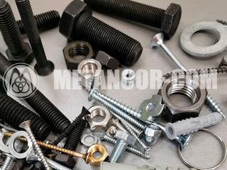 Tehnica de fixare, metize, șuruburi, șaibe din inox, piuliţe, lanţ