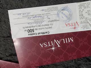 Подарочный сертификат Milavitsa
