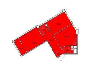 2 dormitoare + living, Buiucani, Dansicons, 37500uro
