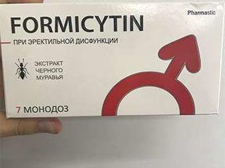 Формицитин - средство для потенции на основе природного афродезиака яда черного муравья