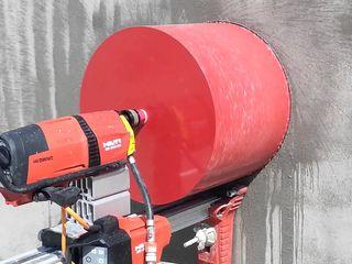 Алмазное резка сверление отверстий вентиляция бетона cotilet gaurire diamant pentru beton hota