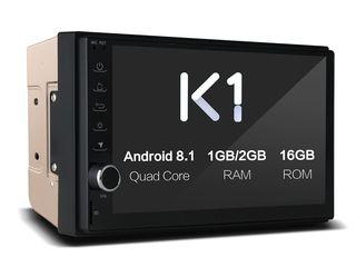 Автомагнитола 2DIN Ownice K1 K1S7005E 4 Core 2GB RAM 16GB ROM Android 8.1 GPS WIFI BT