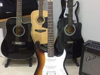 chitara electrica Fender Squier Bullet Strat Custom,гитара электрическая.электрогитара