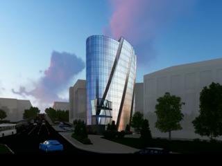 Уникальая коммерческая недвижимость в бизнес центре Infinity Tower от 107м2-партер!