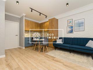 Vânzare apartament 2 camere + living. Etaj 9/12. Euroreparatie. Sprîncenoia. BasconLux. 46900€