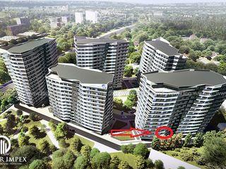Centru - Parc, 63,1 m2, apartament cu 2 odai, etajul 2, Lagmar