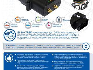 GPS трекеры BITREK, датчики уровня топлива. Услуги мониторинга.