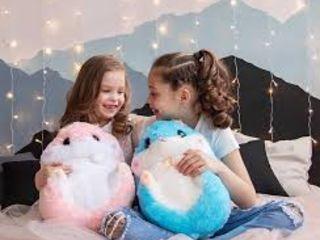 Хомяк-плед отличный подарок для девушки, для ребенка для всех родных и друзей