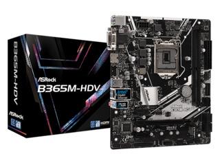 [new] Motherboard 1151 MB ASRock B365M-HDV Материнская плата Placa de bază B365 Intel