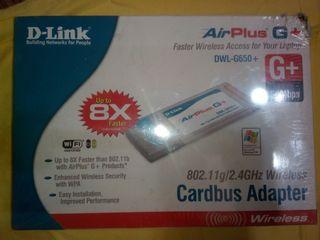 Wi-Fi CardBus адаптер PCMCIA