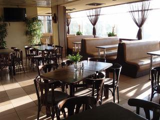 Продаётся действующее кафе-бистро с видом на озеро и лес, стабильный доход. Кишинёв.