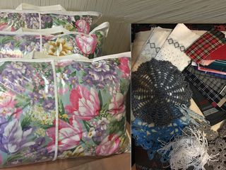 Новые подушки  в упаковке, пух 60% + перо 40%, 50см*70см - 3шт. за 700л. Новое декоративное покр