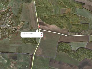 25 соток, 60 км от Кишинева, для заправки!
