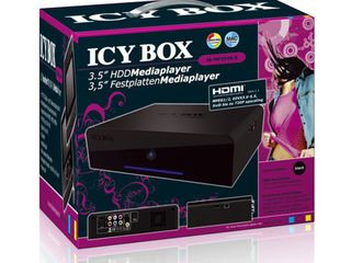 Media player ICY Box IB-MP304S-B + 1TB HDD