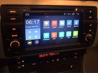 магнитофон на BMW e46, 2di, Android