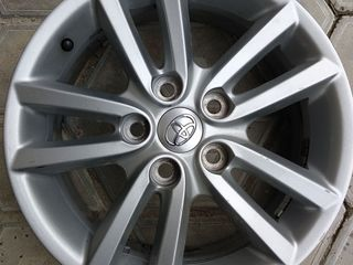 Оригинальные диски Toyota c новыми шинами Nereus 215/60 R16 лето