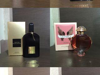 Parfum (Hugo Boss, Tom Ford, Versace, Aventus Creed, Olympea )