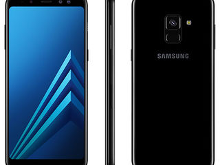 Samsung Galaxy A8 Duos - 300 €. Black. New! Sigilat!